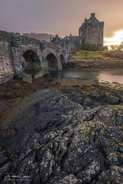 \'Eilean Donan Castle Sunset\' by St1nkyPete