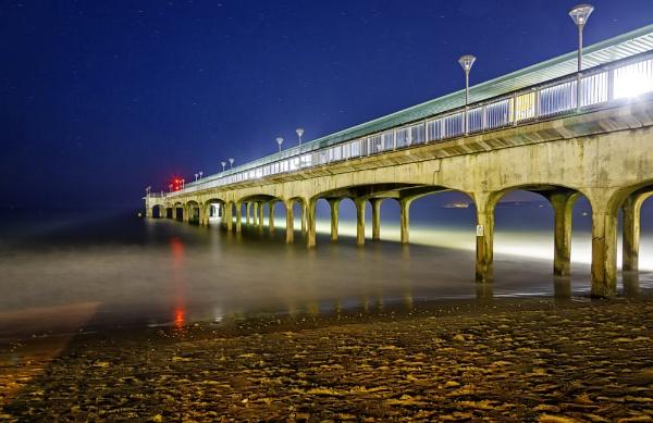 Boscombe Pier by Herge88