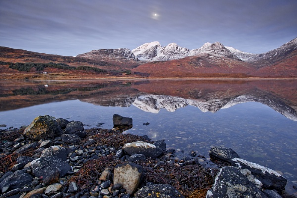 Moonrise over the Cuillins