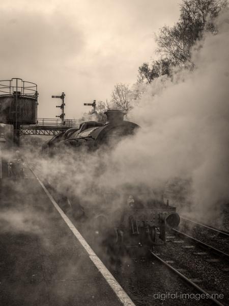 Steam & Smoke by Alan_Baseley