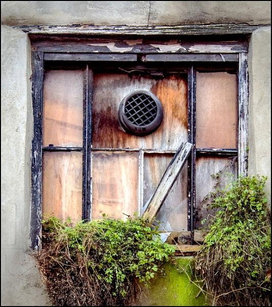 Boarded Window by JawDborn