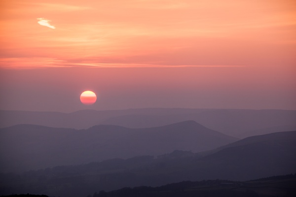 Stanage Sunset by Akif