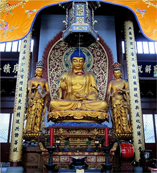 Lingyin Temple - Hangzhou, China by MaryFaith