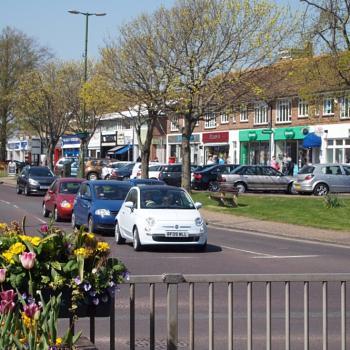 Rustington Shopping Centre, West Sussex.