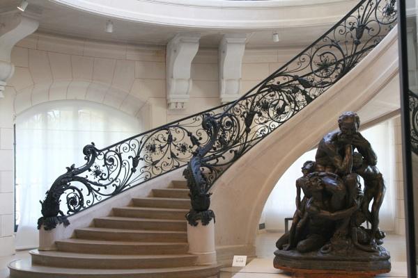Art Nouveau staircase in side Le site du Petit Palais created for The exhibition \'Paris 1900\' by TornadoTys