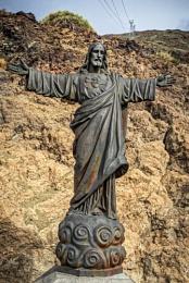 Statue of Jesus Christ Sacred Heart, Mt Teide, Tenerife