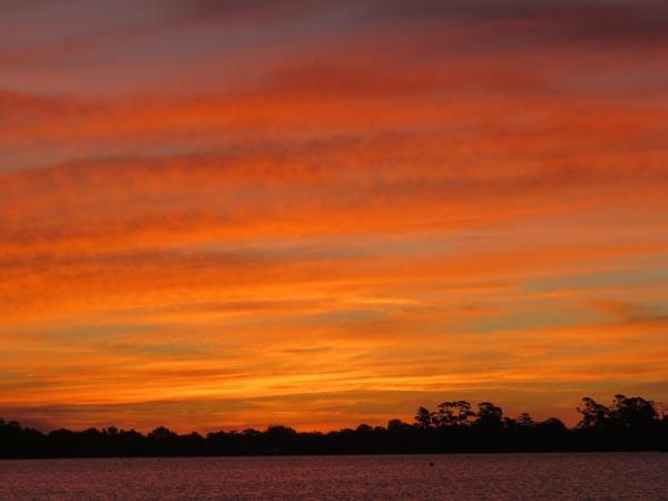 Sunset at Ballarat by Elfix6