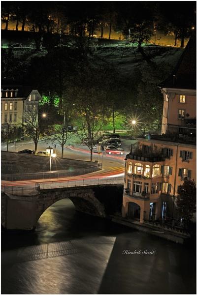 Bern at Night by siantarman