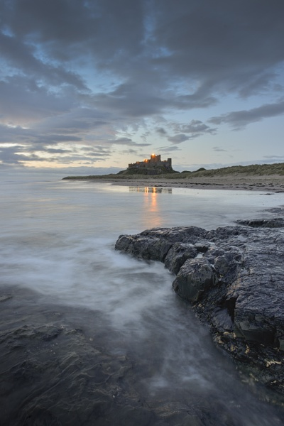 Bamburgh Castle by Kim Walton