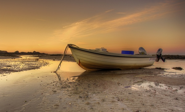 Moored at Sunrise by happysnapper