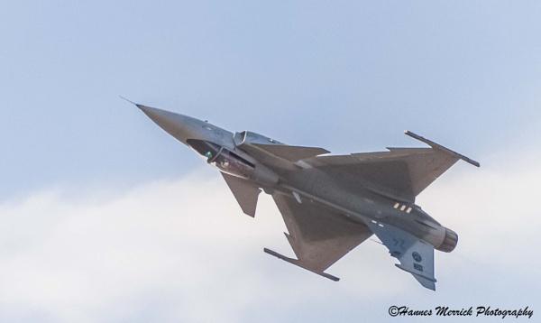 Zwartkops Airshow, South Africa, SAAF Grippen by HannesM