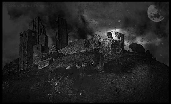 Shadows of War.  Corfe Castle. by UrbaneMagick