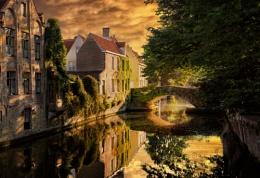 Bruges Golden Hour