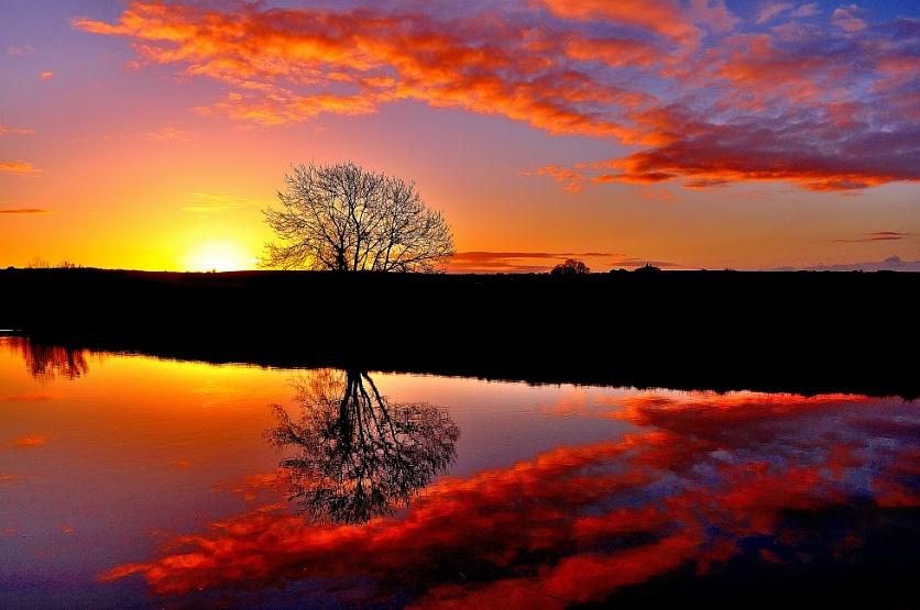 Sunrise for the soul.