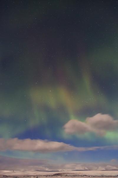 Aurora over Iceland by SueLeonard