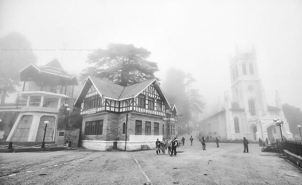 The Ridge,Shimla. by Dead_habits