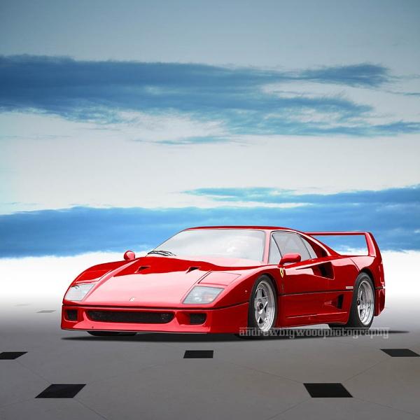 Ferrari F40 by arhb