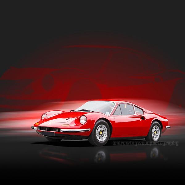 Ferrari Dino 246 GT by arhb