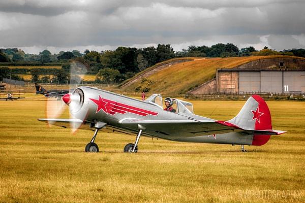 Yakovlev Yak-50 by RWPhotoGraphix