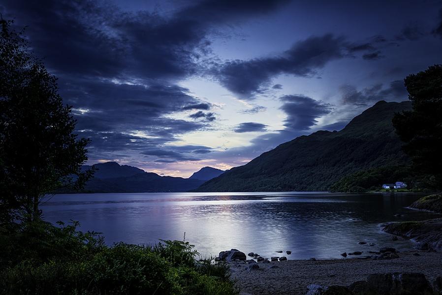 Loch Lomond Blue Hour