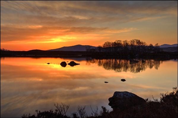 Sunrise on Rannoch Moor by Irishkate