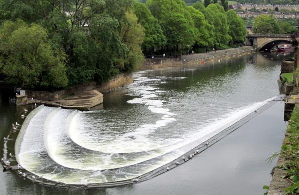 Bath Weir by dixy
