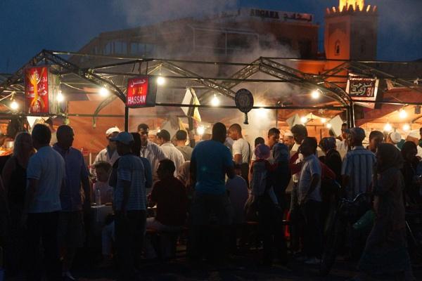Marrakech Food Market by jinstone