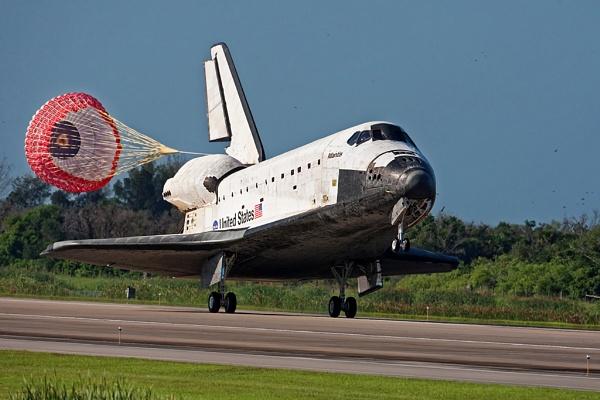 Space Shuttle Atlantis Last Flight - Landing by Andy_F