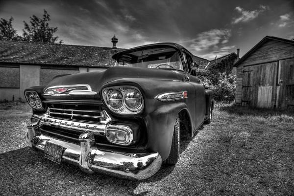 1959 Chevy Apache by jonkennard