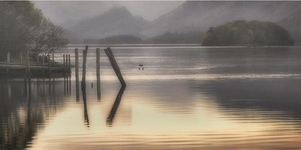 Sunrise Derwentwater by judidicks