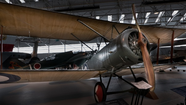 cosford air museum by cfreeman