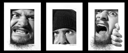 Self Portrait Triptych