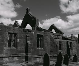 Heptonstall Church ruin