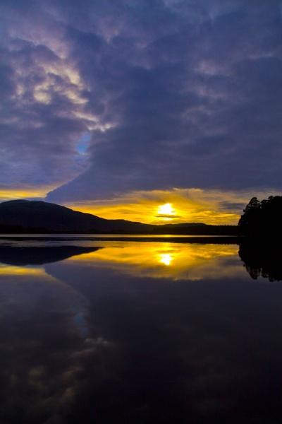 Sunset on Loch Garten by Barry286