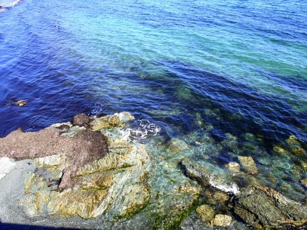 ~ Ocean Water & Rocks II by LexEquine