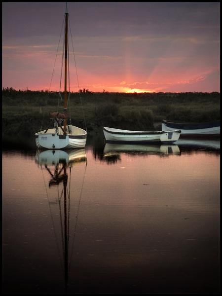 Morston Quay Sundown by Niknut