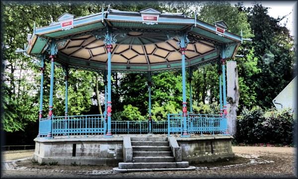 Bandstand in Vitre Parc France by Chrisjaz