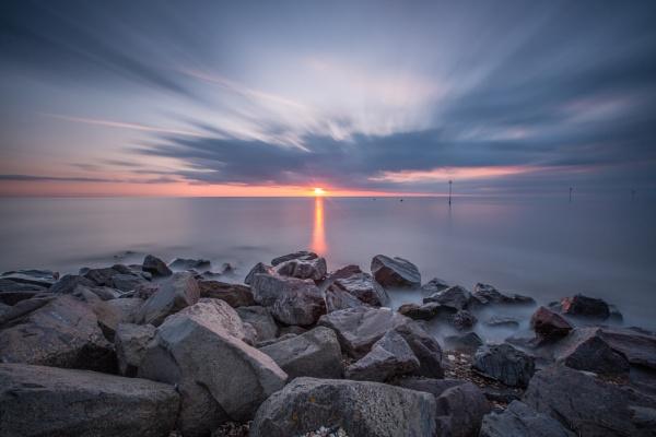 Heacham Sunset by MossyOak