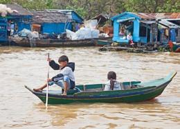 Tonle Sap Floating Village, Cambodia--Part 1 of 3