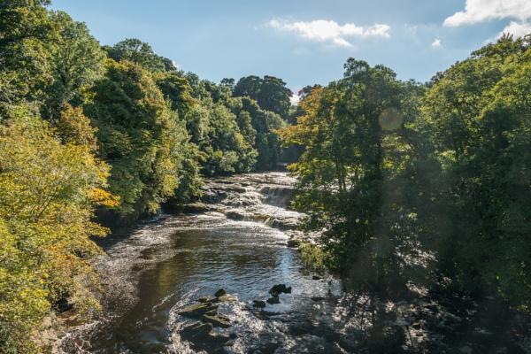 Aysgarth falls yorkshire by yamahaman