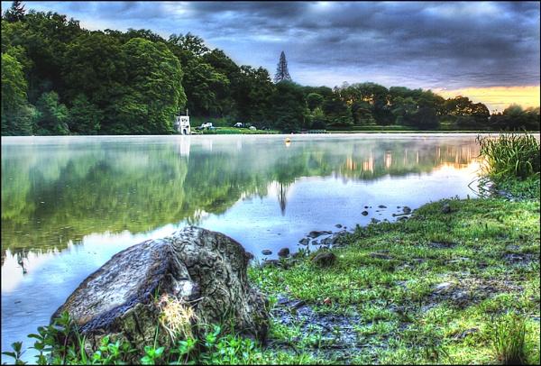 Shearwater Lake. by biglog