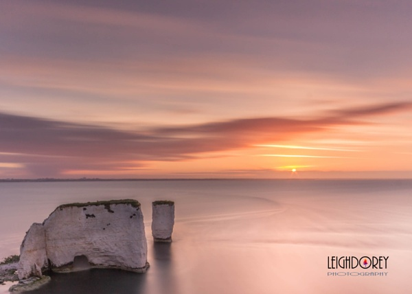 Old Harry Rocks by LDorey