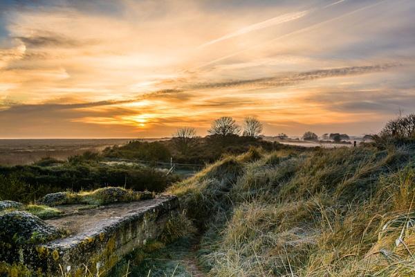Sea View Sunrise by Gillken