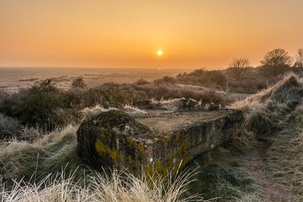 Dunes Sunrise by Gillken
