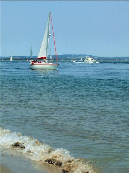 Summer Sailing by pamelajean