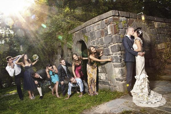 Melbourne Wedding Photographer - Bridal Party at Montsalvat by chrisgarbacz