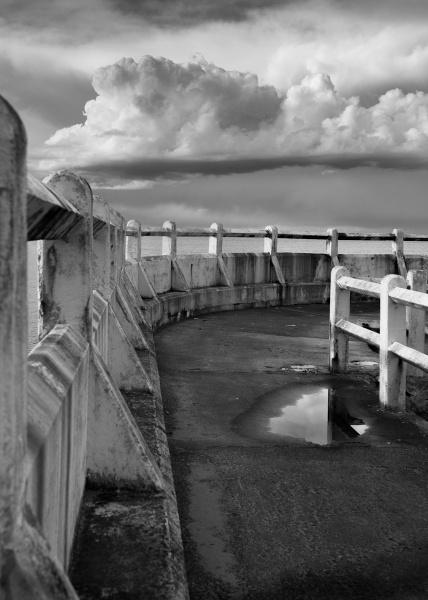 Storm coming. by Kim Walton