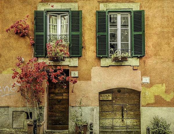 Roman Facade by WeeGeordieLass