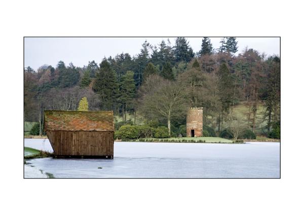 Frozen Lakeside by Mark_24