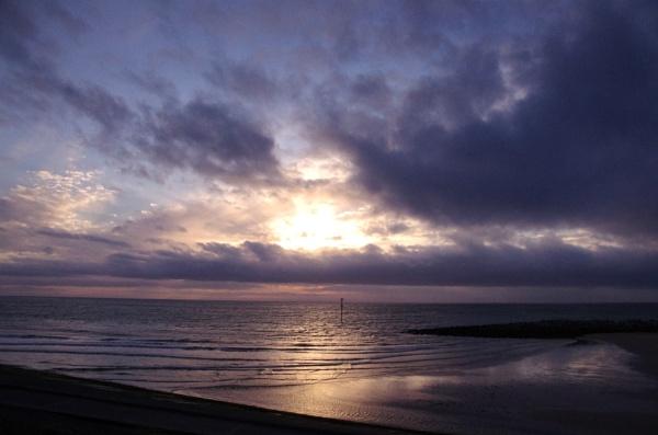 Leasowe Sunsetting. by pentaxpatty